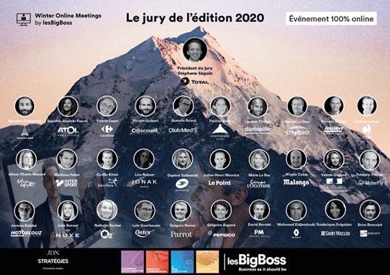 Les membres du jury de la winter Online meeting 2020