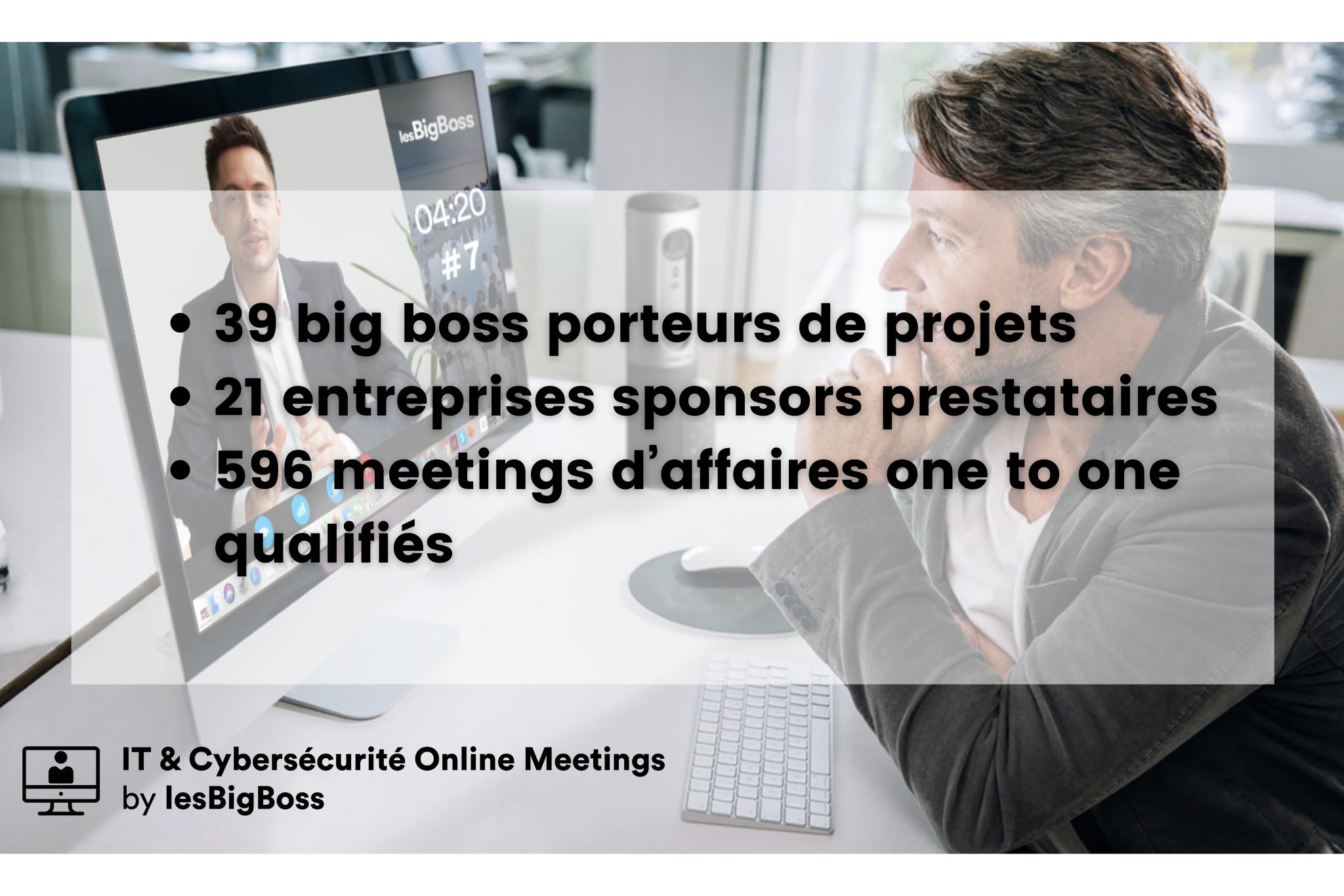 chiffres big boss et sponsors it online meetings